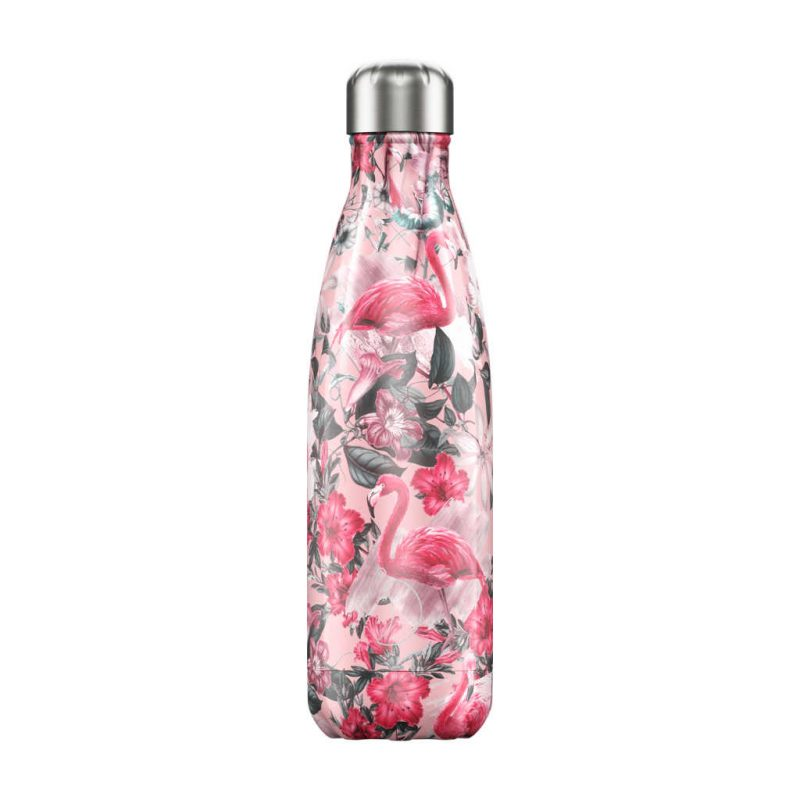 Isolierflasche Tropical Flamingo 500ml