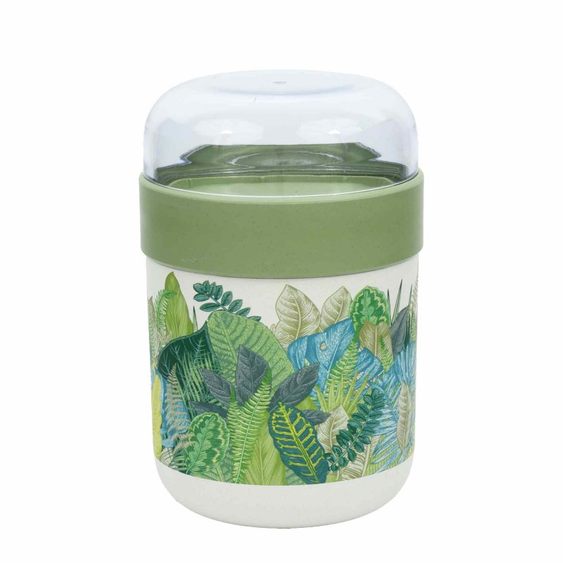 Lunchbox bioloco plant - Lunchpot 'exotic leaves'